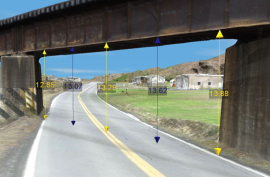CMV Collision Investigation 3-D Model